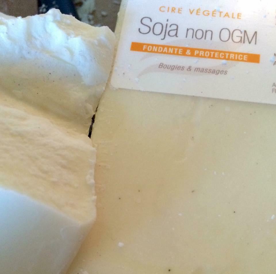 cire soja non OGM